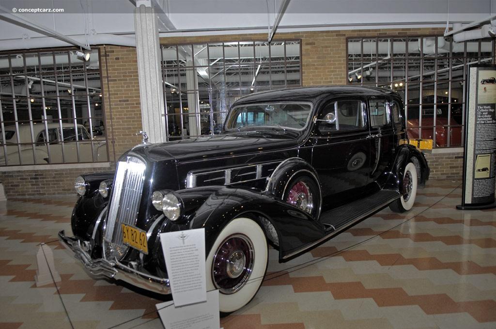 1936 Pierce-Arrow Salon Twelve   conceptcarz.com