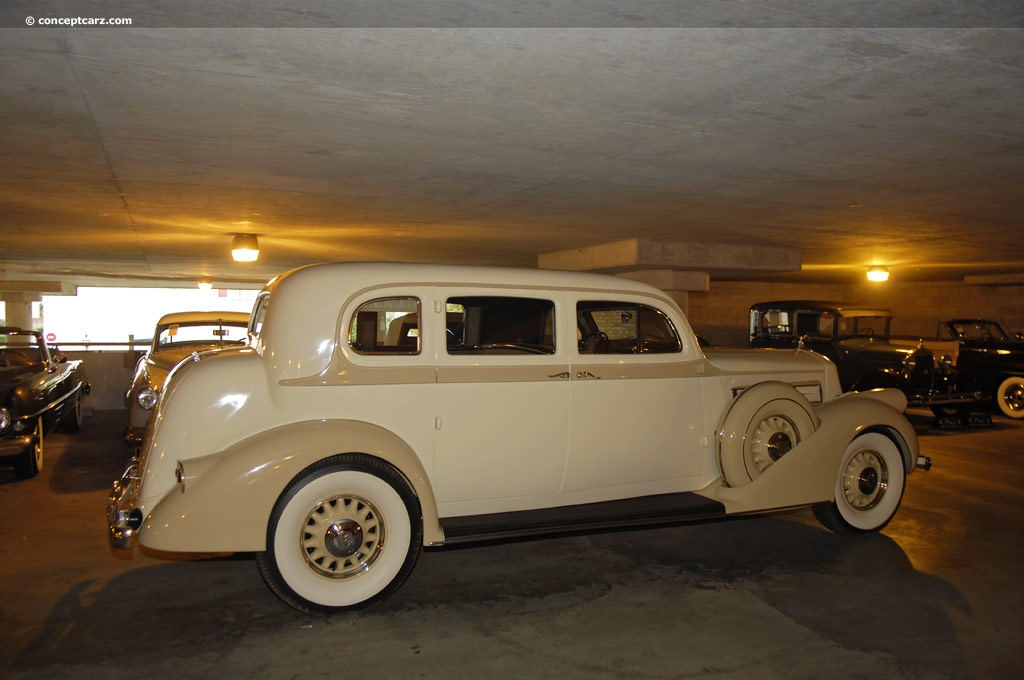 1936 Pierce Arrow Deluxe 8 Image Chassis Number 3150012