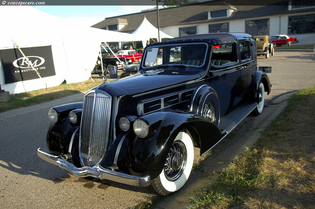 1936 Pierce-Arrow Town Car Prototype History, Pictures ...