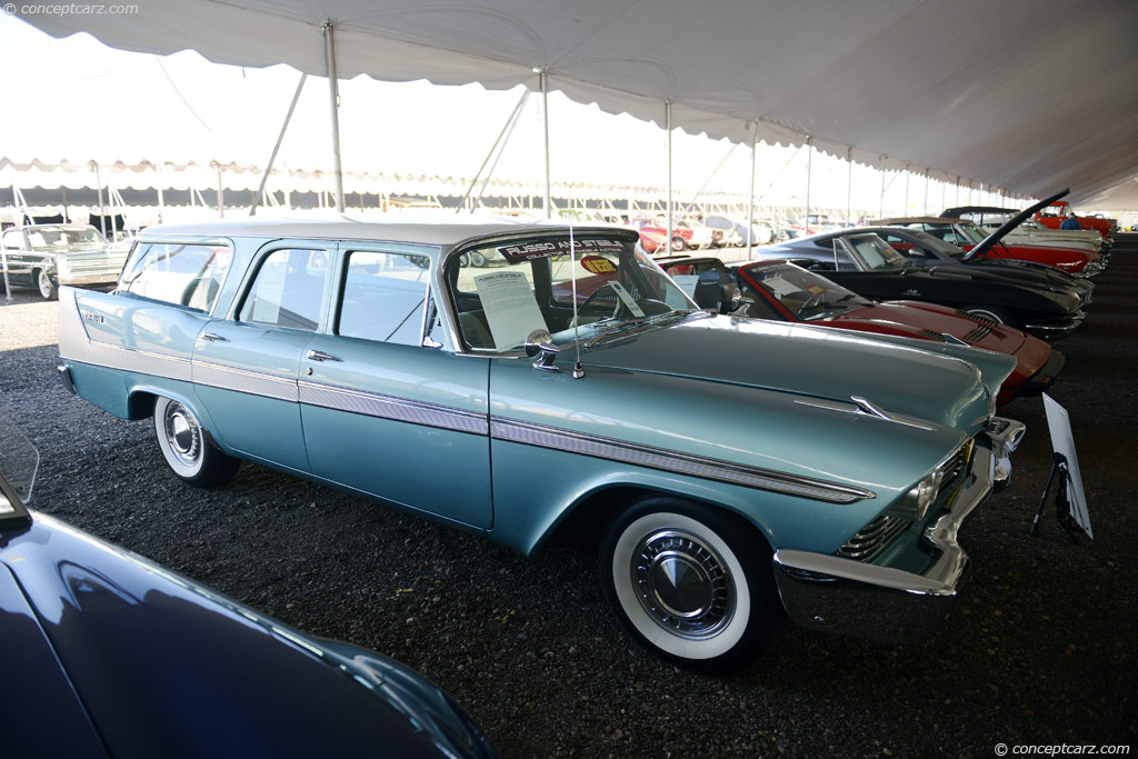 1958 Plymouth Sport Suburban Pictures, History, Value ...