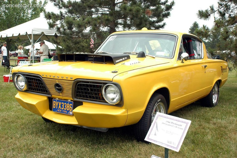 1966 Plymouth Barracuda GT