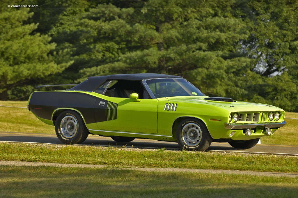 1971 Plymouth Barracuda History Pictures Value Auction