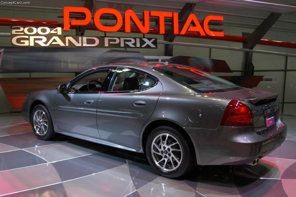 2004 pontiac grand prix gxp history pictures value auction sales research and news. Black Bedroom Furniture Sets. Home Design Ideas
