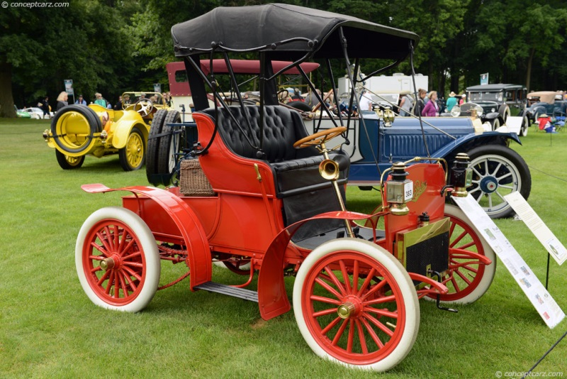 1908 Pontiac Spring and Wagon Works Buggy Runabout