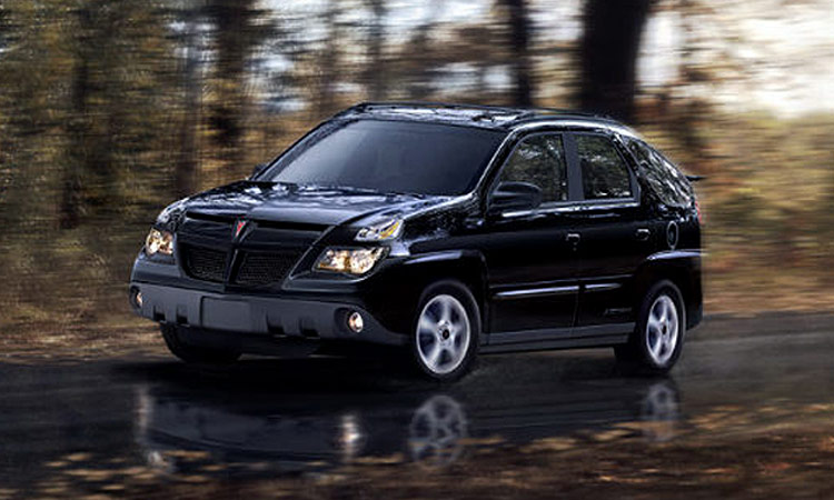 2005 Pontiac Aztek History Pictures Value Auction Sales