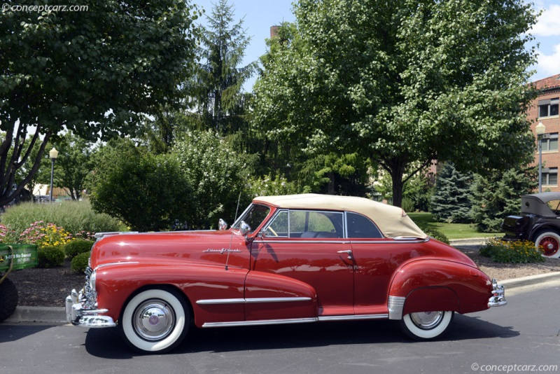 1948 Pontiac Silver Streak Convertible C8pa1338 Chis Information
