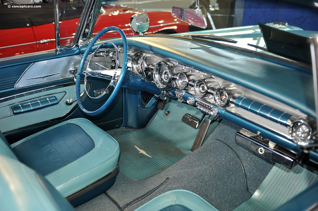 1958 Pontiac Bonneville Series 25 Image Chassis Number