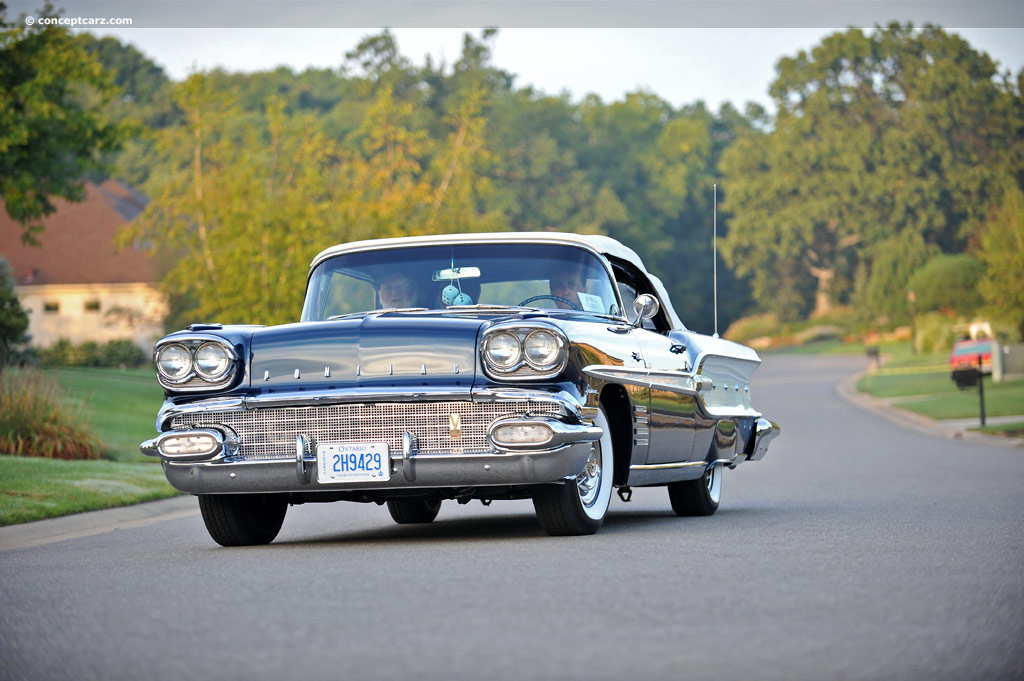 1958 Pontiac Parisienne Conceptcarz Com