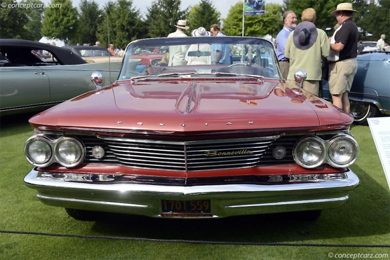 1960 Pontiac Bonneville chassis information