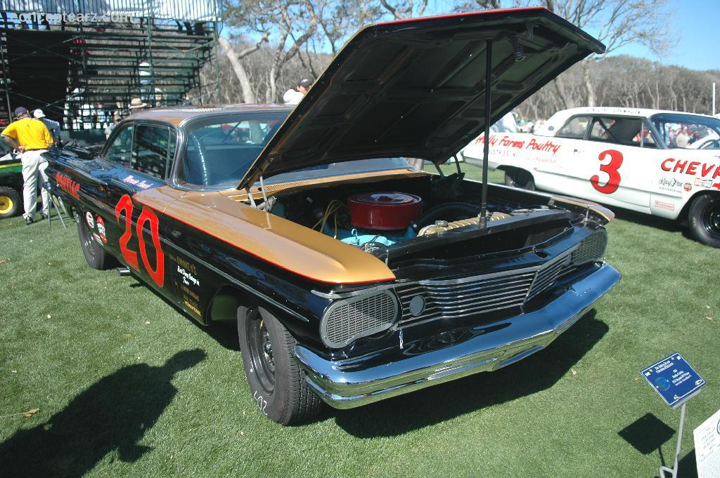 1960 Pontiac Catalina NASCAR History, Pictures, Value, Auction Sales ...
