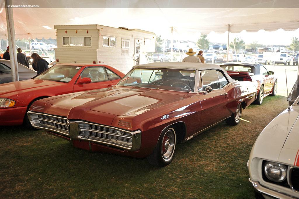 1967 pontiac grand prix image chassis number 266677x108130. Black Bedroom Furniture Sets. Home Design Ideas