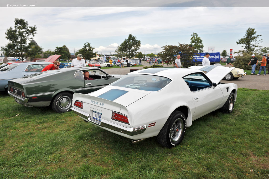 1970 Pontiac Firebird Trans Am Image Chassis Number 991