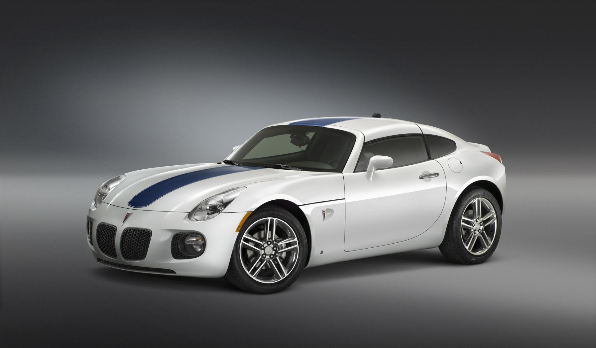 2009 Pontiac Solstice GXP Coupe Concept News and Information