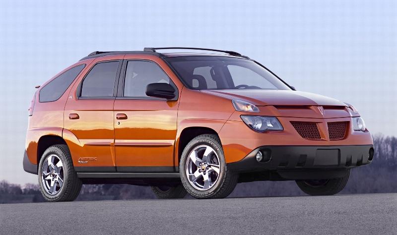 2004 Pontiac Aztek History Pictures Value Auction Sales Research