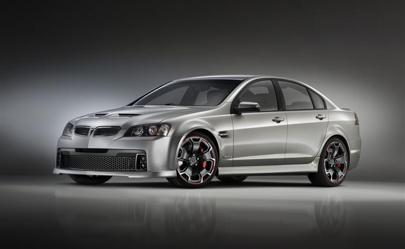 2009 Pontiac G8 GXP Street Concept pictures and wallpaper
