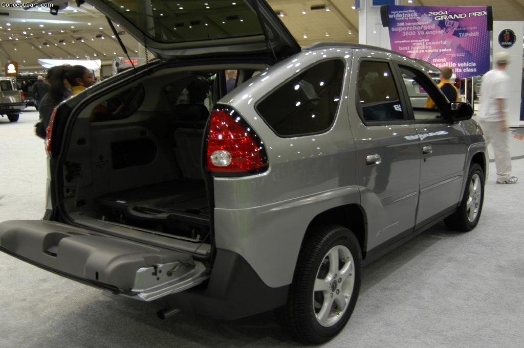 2003 Pontiac Aztek Pictures, History, Value, Research, News - conceptcarz.com