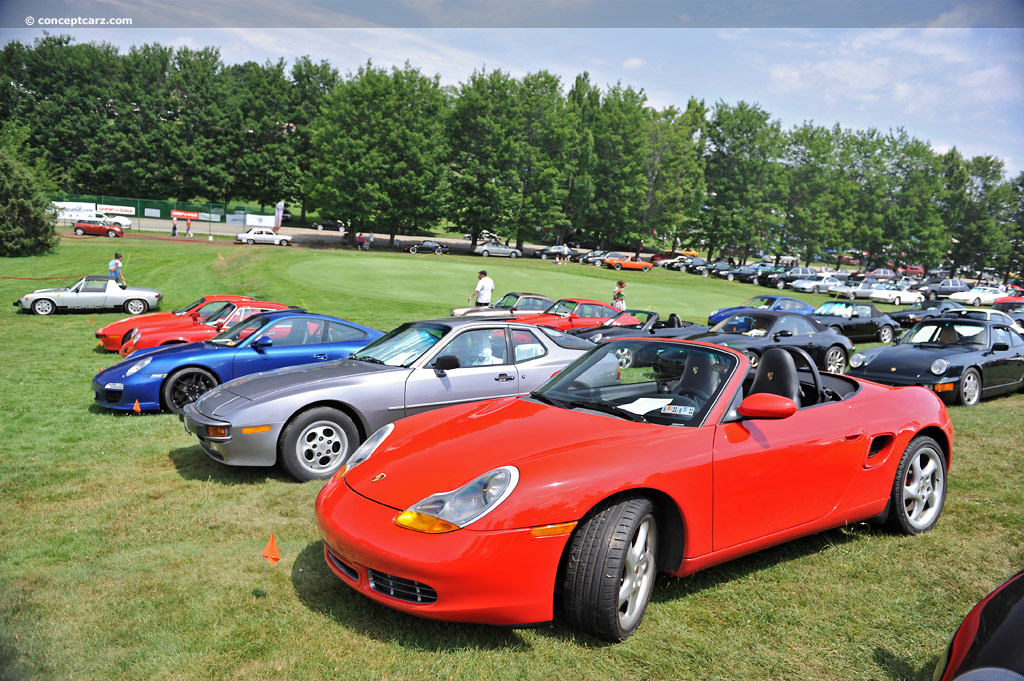 2000 porsche boxster at the pittsburgh vintage grand prix car show. Black Bedroom Furniture Sets. Home Design Ideas