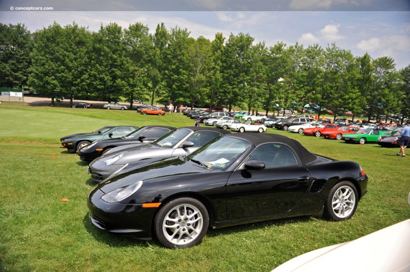 2003 porsche boxster at the pittsburgh vintage grand prix car show. Black Bedroom Furniture Sets. Home Design Ideas