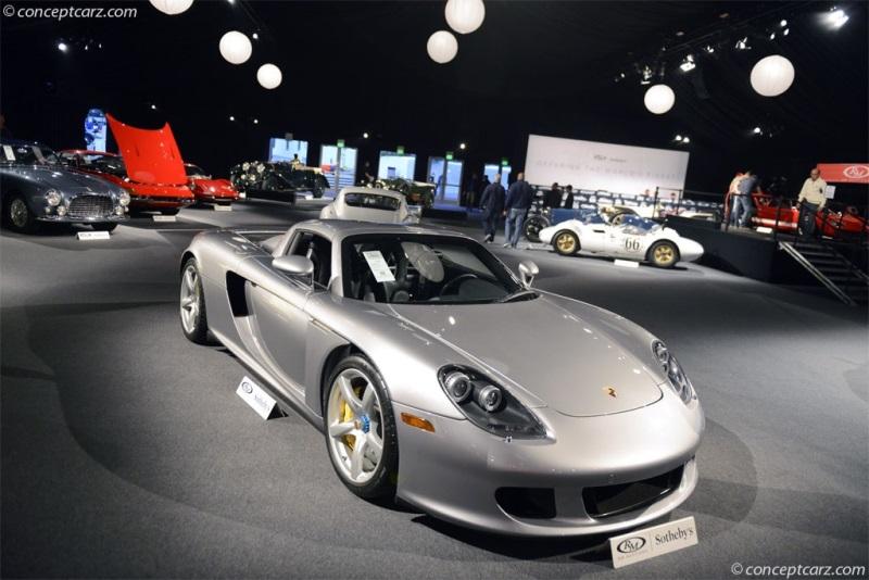 Chassis Wp0ca29804l001183 Engine 90530613 2004 Porsche Carrera Gt