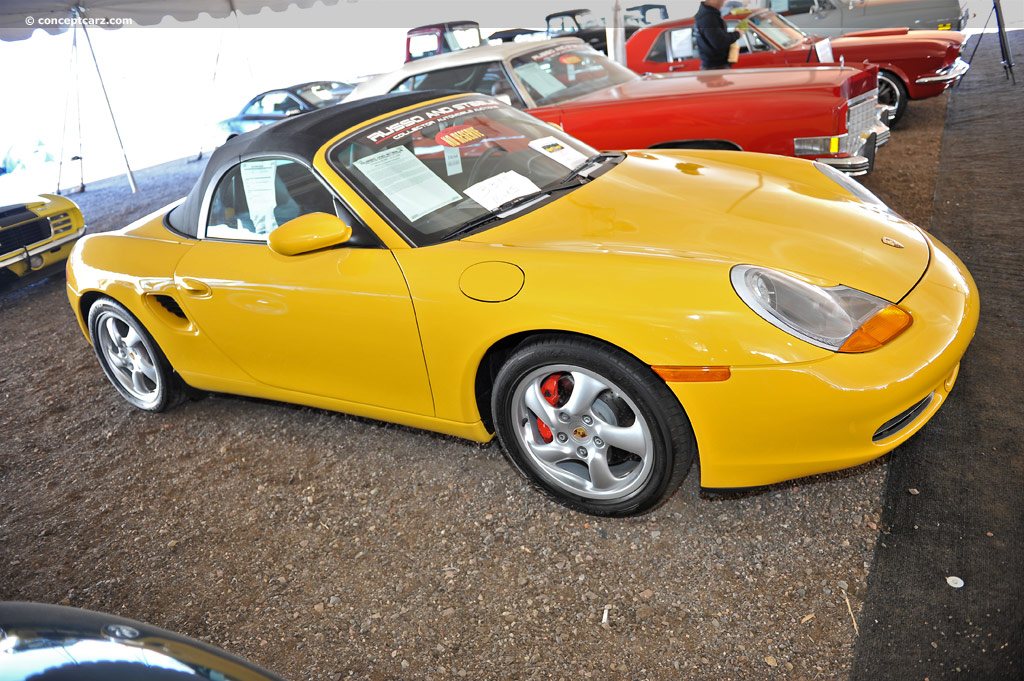 Auction Results and Sales Data for 2002 Porsche Boxster