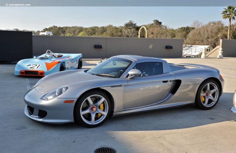 2005 Porsche Carrera GT Image. Chassis number WPOCA29835LOO1258 ...