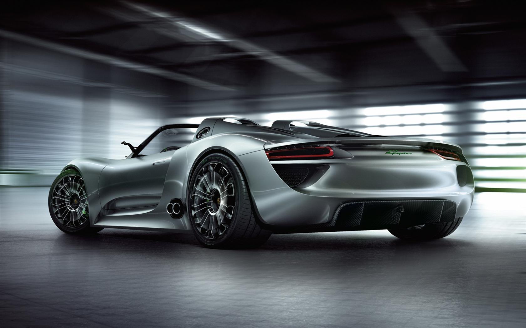 2010 Porsche 918 Spyder Concept Image Photo 13 Of 14