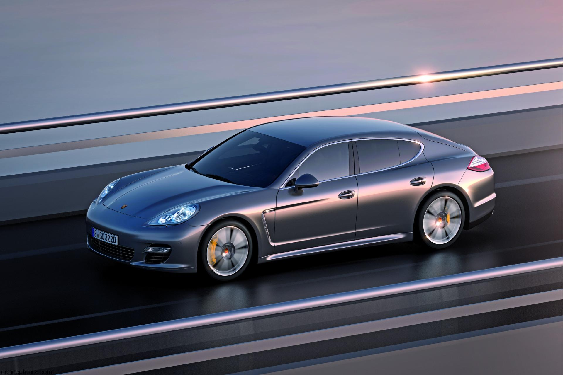 2011 Porsche Panamera Turbo S News and Information