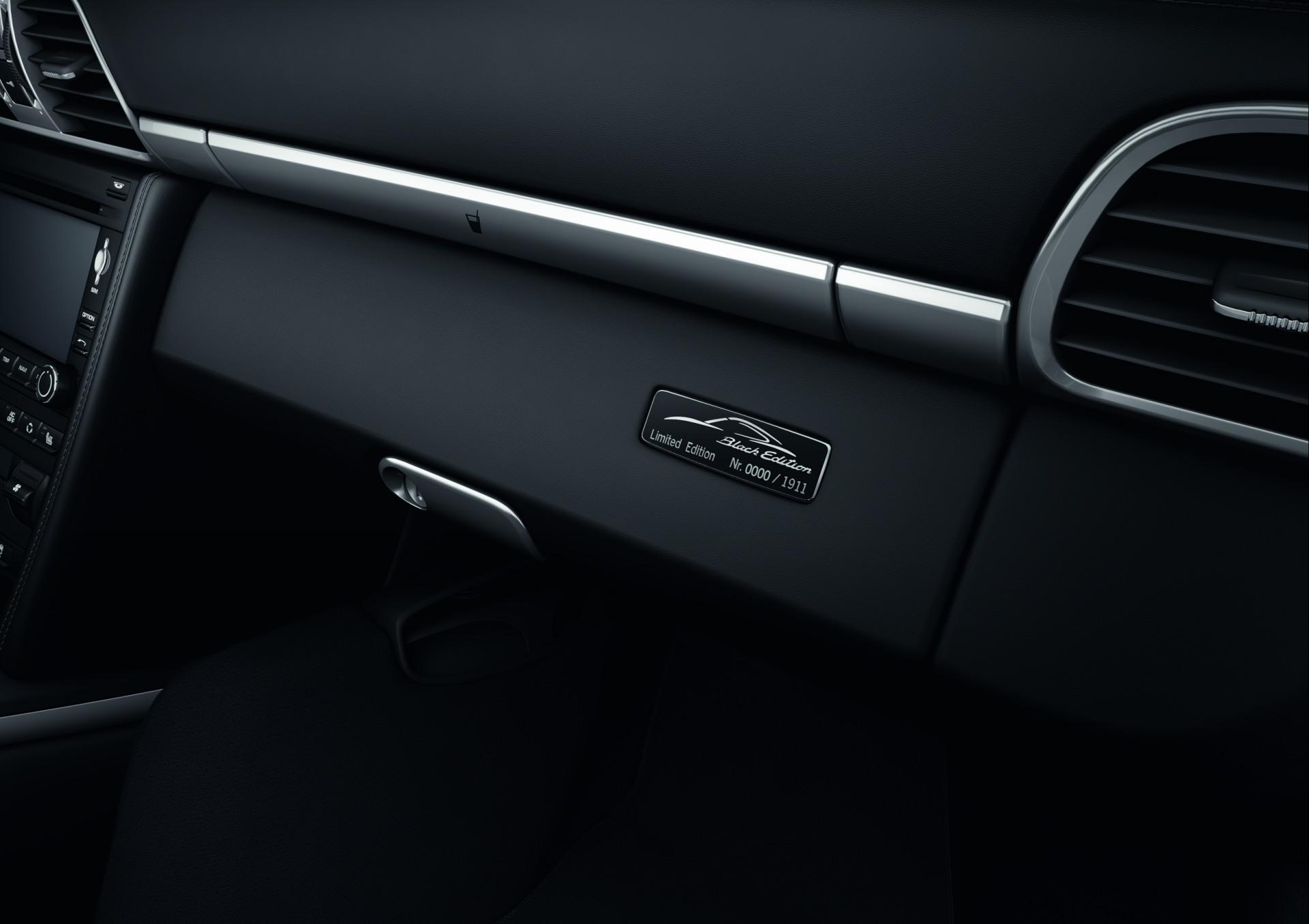 2012 Porsche 911 Black Edition Carrera