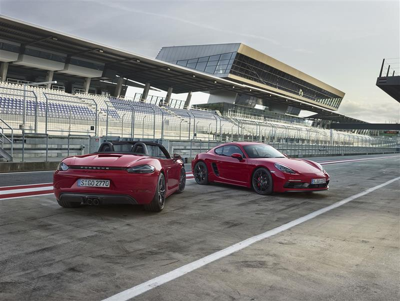 Porsche 718 Boxster GTS pictures and wallpaper