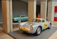 1953 Porsche 550.  Chassis number 550-001