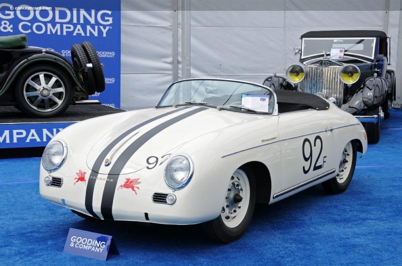 1954 Porsche 356 Image. Chis number 80032