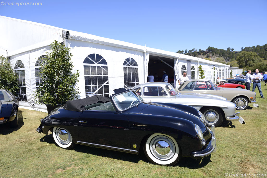 1955 Porsche 356 Image Chassis Number 60771