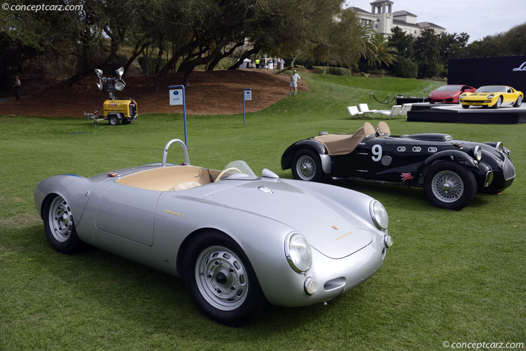 1955 Porsche 550 Rs Spyder Image Chassis Number 550 0075