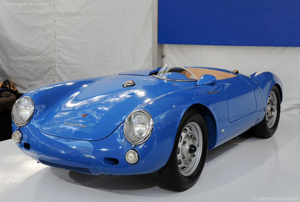 1955 Porsche 550 Rs Spyder Image Chassis Number 550 0060