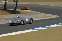 1955 Porsche 550 RS Spyder.  Chassis number 550-041