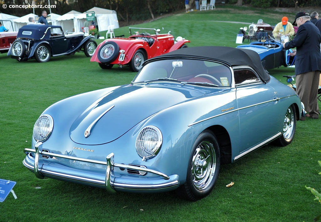 1957 Porsche 356 Image Chassis Number 83536