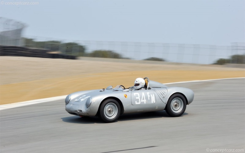 1958 Porsche 550 A Image Chassis Number 144 Photo 8 Of 37