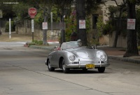 1958 Porsche 356A.  Chassis number 84537