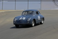 1959 Porsche 356A.  Chassis number 107763