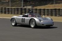 1961 Porsche RS 61.  Chassis number 718-068