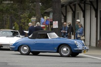 1960 Porsche 356B.  Chassis number 87779