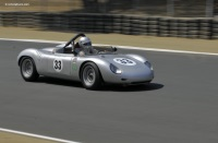 1961 Porsche RS 61.  Chassis number 718-076