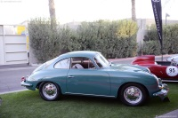 1963 Porsche 356.  Chassis number 211738