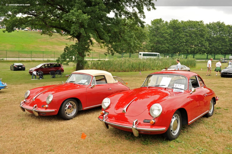 1963 Porsche 356 Image. Chis number 123709. Photo 93 of 130