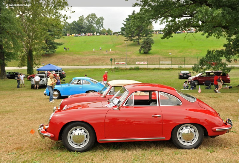 1963 Porsche 356 Image. Chis number 123709. Photo 92 of 130
