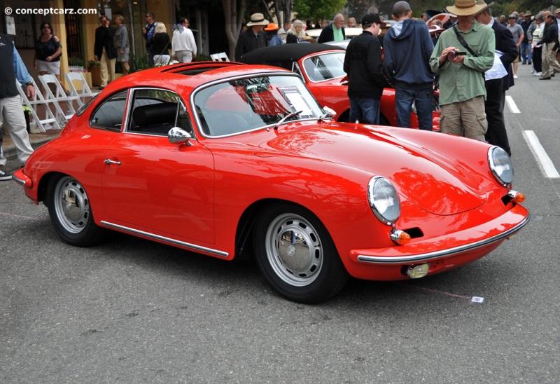 1964 Porsche 356 Carrera 2 chis information.