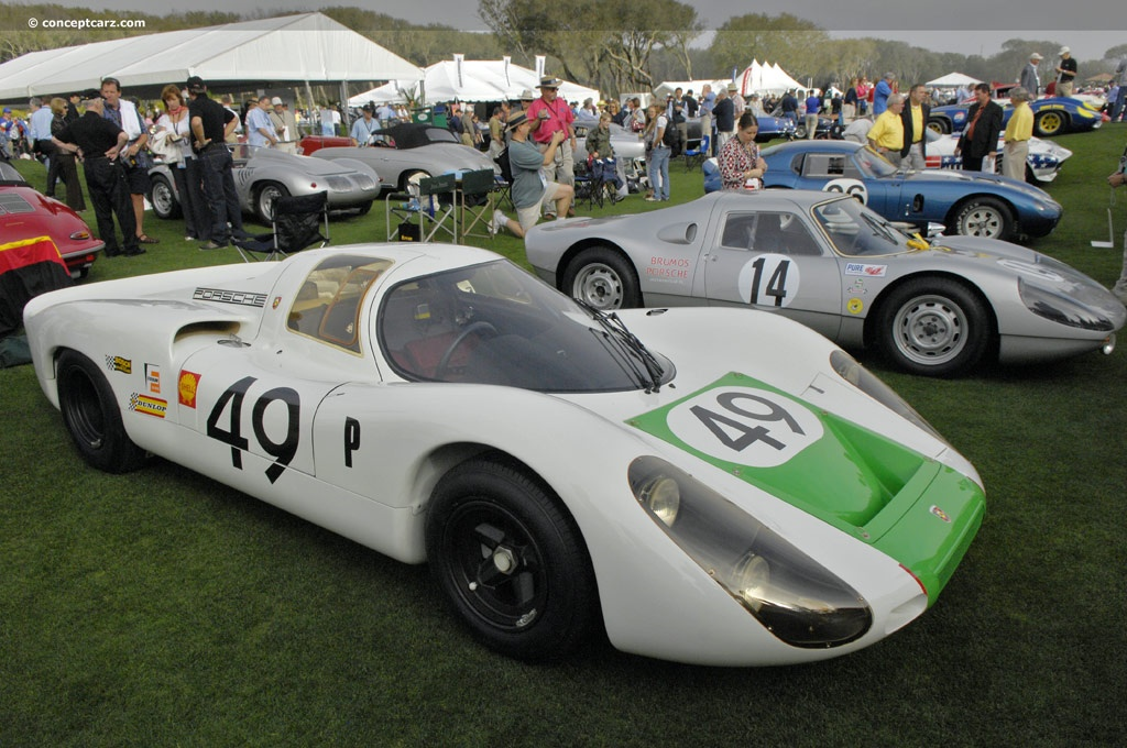 Auction Results and Sales Data for 1968 Porsche 907