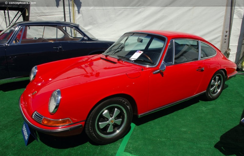 1968 Porsche 911 Image. Chis number 11800073. Photo 150 of 207