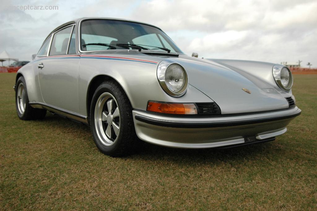 1973 Porsche 911s At The Palm Beach International Concours