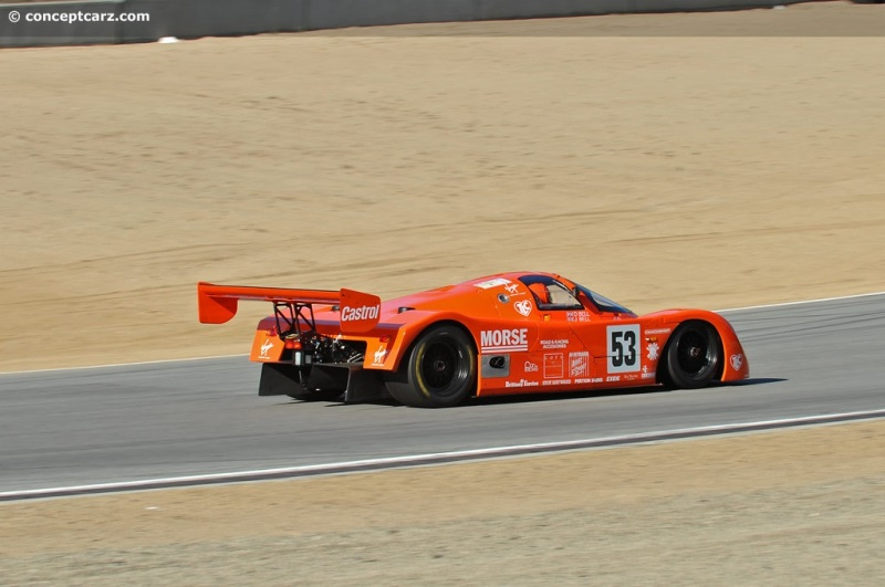 1989 Porsche 962 Image. Chassis number RLR202